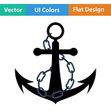 Icon of sea anchor