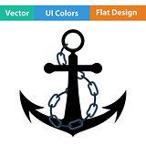 Icon of sea anchor