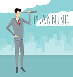 Vector Flat Business Concept