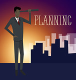 Vector Flat Business Concept