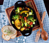 Colorful Vegetables Ragout