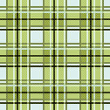 Seamless checkered pattern in green colors