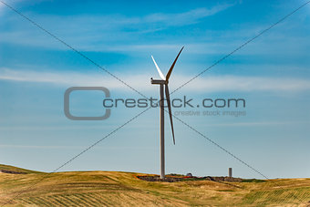 Air wind turbines