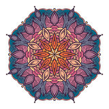 Color circular pattern. Round kaleidoscope