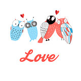 Graphic owl lovers