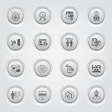 Button Design Business Icons Set