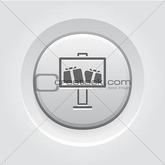Advertising Icon Concept