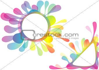 Watercolor Splotch Design