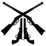 Vintage american guns