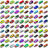 Cars Game Icons Isometric Vehicles