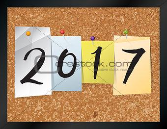 2017 Bulletin Board Theme Illustration