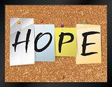 Hope Bulletin Board Theme Illustration