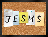 Jesus Bulletin Board Theme Illustration