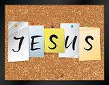 Jesus Bulletin Board Theme Illustration
