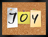 Joy Bulletin Board Theme Illustration