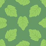Foliage seamless pattern. Boho style