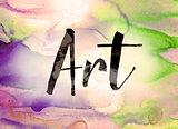 Art Concept Watercolor Theme