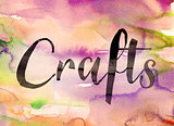 Crafts Concept Watercolor Theme