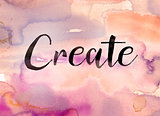 Create Concept Watercolor Theme