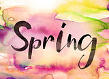 Spring Concept Watercolor Theme