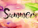 Summer Concept Watercolor Theme