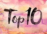 Top 10 Concept Watercolor Theme
