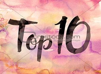 Top 10 Concept Watercolor Theme