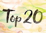 Top 20 Concept Watercolor Theme