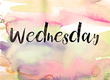 Wednesday Concept Watercolor Theme