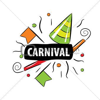 Carnival vector logo