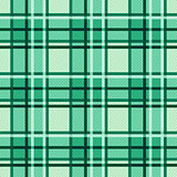 Emerald hues seamless checkered pattern