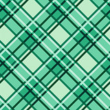 Emerald hues seamless diagonal pattern