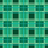 Seamless checkered pattern in Emerald