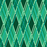 Seamless rhombic pattern in Emerald