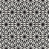 Vector Seamless Hand Painted Line Geometric Star Pattern