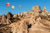 Hot Balloons over Uchisar