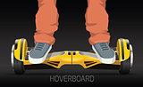 legs on wheel selfbalance electric hover board