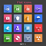 Flat Application Icons Set 5