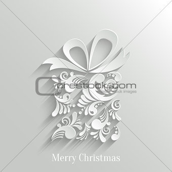 Absrtact Floral Gift Background