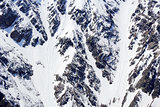 Snow mountains texture