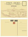 Switzerland postcards