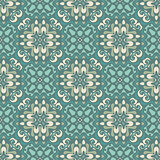Damask seamless tiles vector design