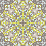 Abstract geometric seamless pattern ornamental