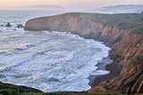 Sunset at Mori Point, Pacifica, San Mateo County, California