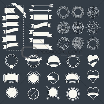 Forms vector template
