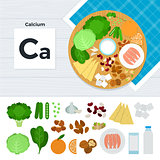 Products with Calcium