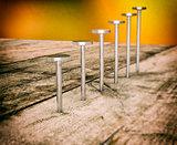 hardware tools, steel nails