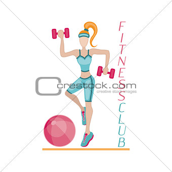 Fitness background women