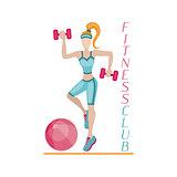 Fitness background women
