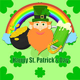 Happy St. Patrick's Day vector illustration